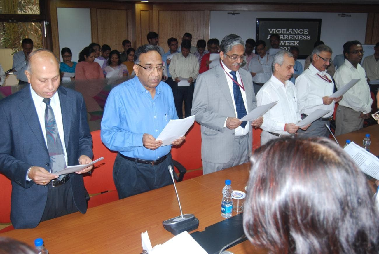 Vigilance Awareness Week 2012 Pledge taking function in CVC