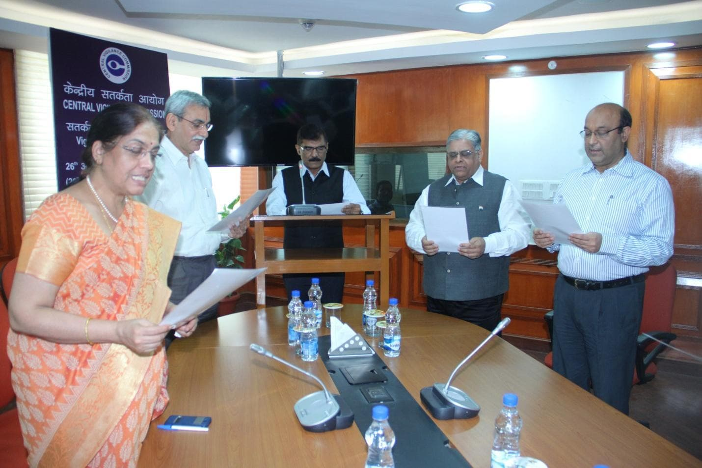 Vigilance Awareness Week 2015 Pledge taking function in CVC