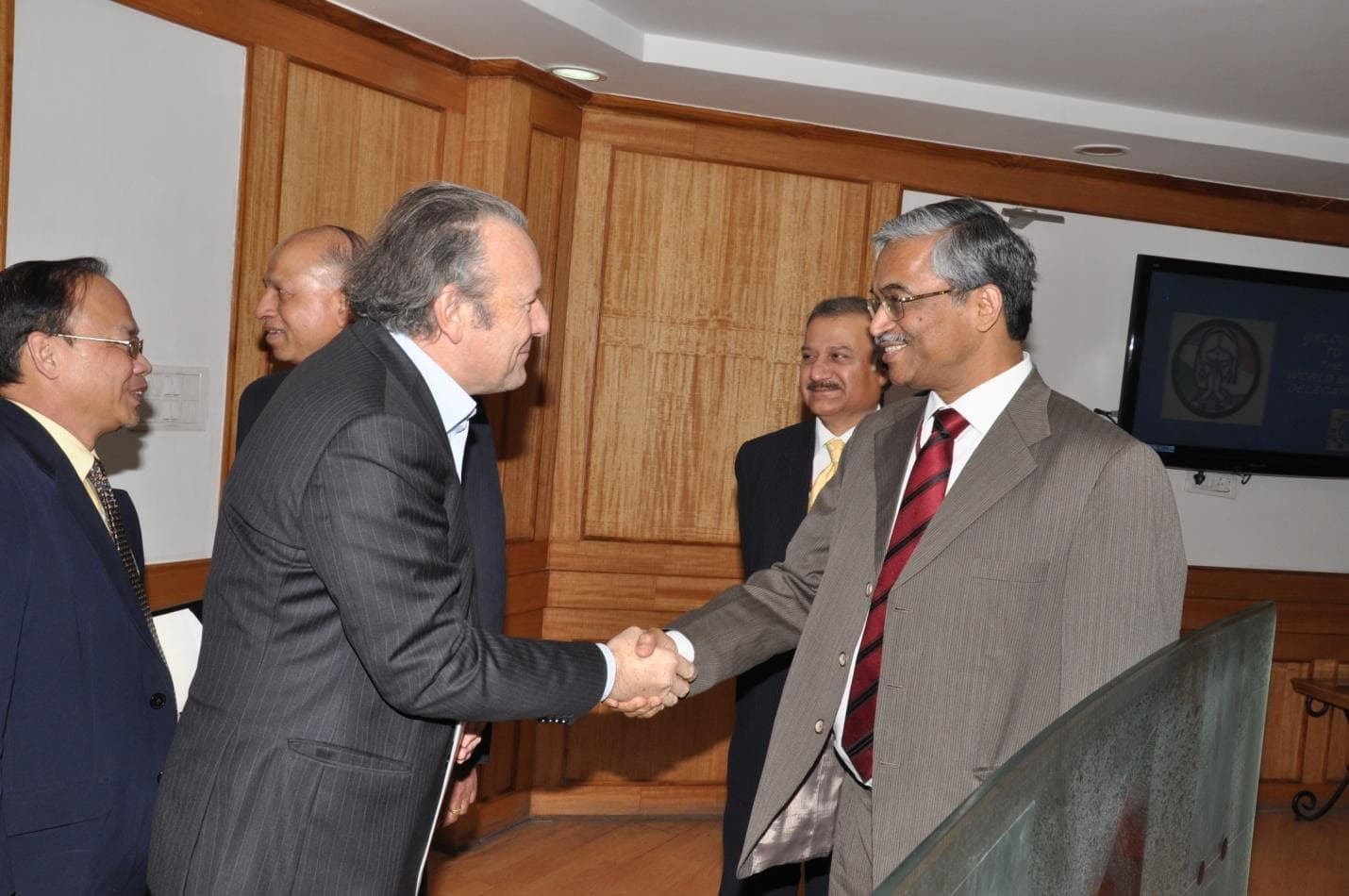 Visit of World Bank Independent Advisory Board Delegation