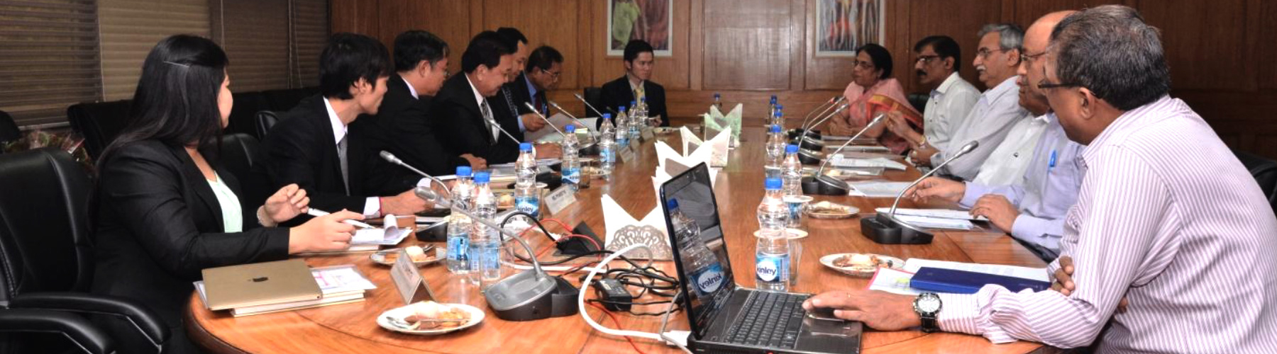 Meeting With Officials