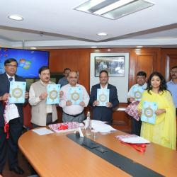 Release of Booklet on Preventive Vigilance Initiatives during VAW-2019