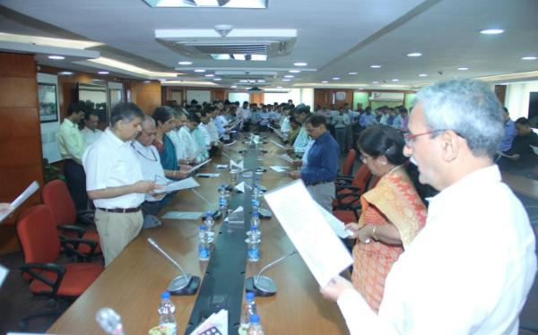 Vigilance Awareness Week 2015 - Pledge taking function in CVC